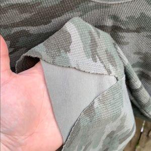 Free People Tops - Free People camo thermal long sleeve shirt